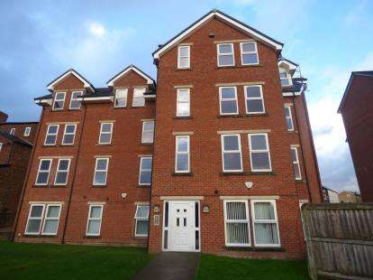 2 Bedrooms Flat for sale in Stitch Lane, Heaton Norris, Stockport, Greater Manchester