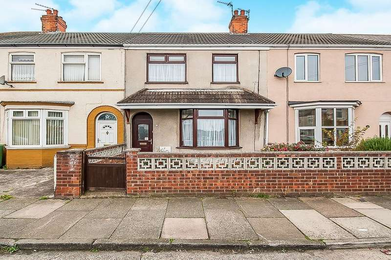 3 Bedrooms Terraced House for sale in Elm Avenue, Grimsby, DN34