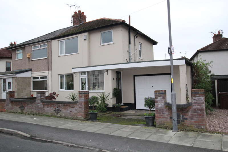3 Bedrooms Semi Detached House for sale in Moorland Road, Liverpool, L31