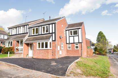 4 Bedrooms Semi Detached House for sale in Redstone Close, Church Hill North, Redditch, Worcestershire