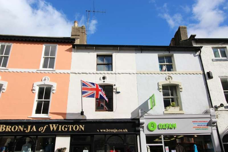 2 Bedrooms Flat for rent in High Street, Wigton, CA7