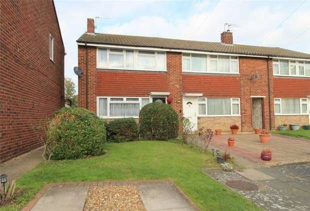 3 Bedrooms End Of Terrace House for sale in Thorne Close, Ashford, Middlesex