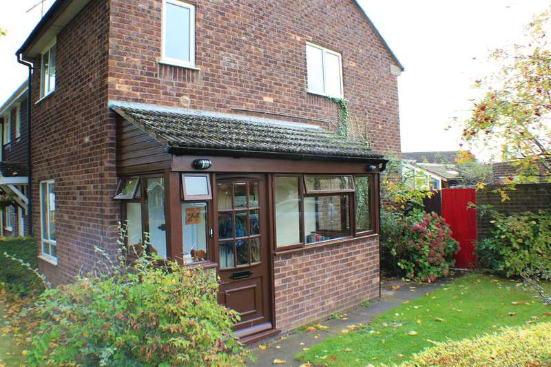 2 Bedrooms End Of Terrace House for sale in Whitewood Way, Worcester