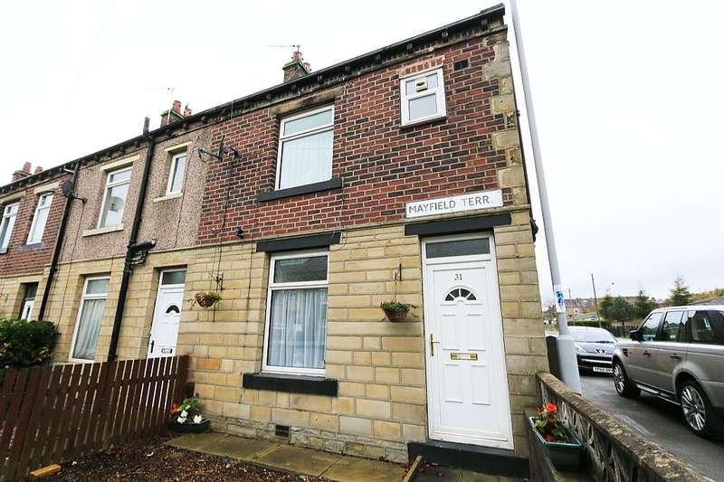 2 Bedrooms End Of Terrace House for sale in Mayfield Terrace, Wyke, Bradford, West Yorkshire, BD12 9QA