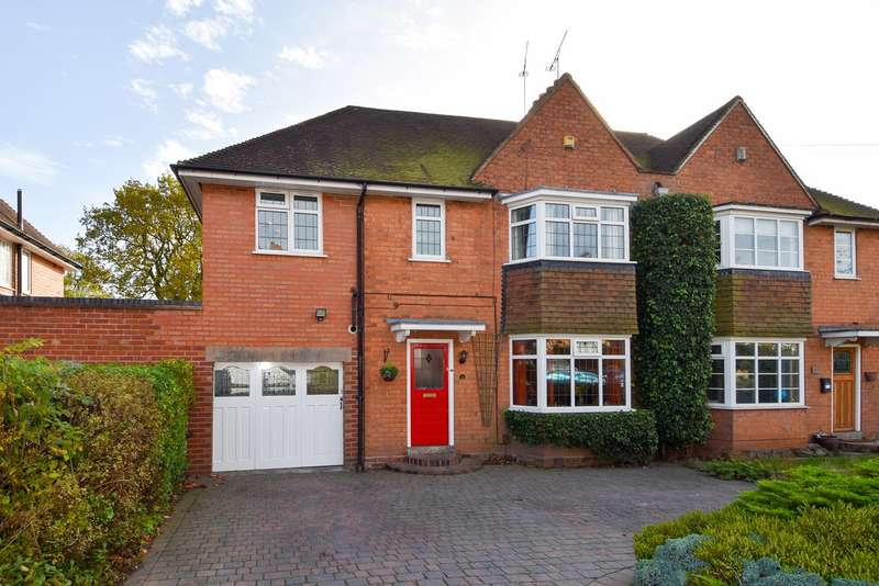 5 Bedrooms Semi Detached House for sale in Meadow Brook Road, Bournville Village Trust, Birmingham, B31