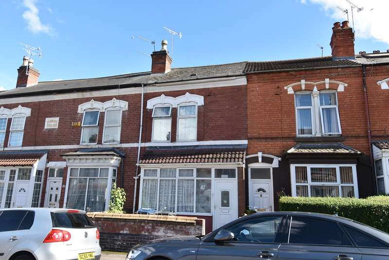 3 Bedrooms Terraced House for sale in Oakwood Road, Sparkhill, Birmingham, B11