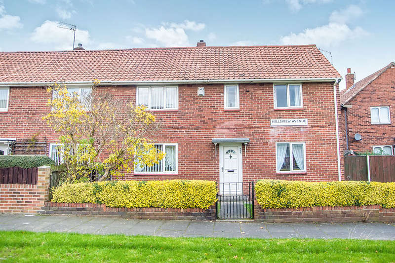 3 Bedrooms Semi Detached House for sale in Hillsview Avenue, NEWCASTLE UPON TYNE, NE3