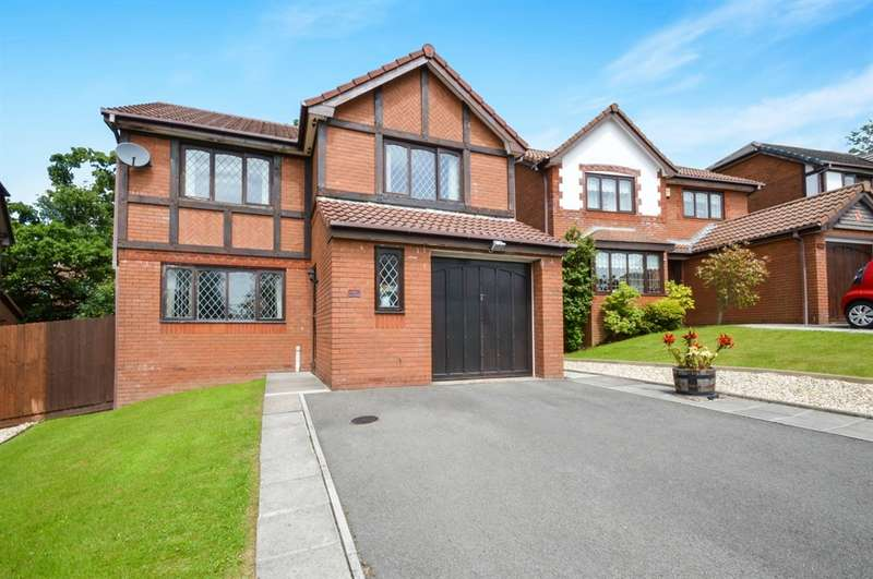 4 Bedrooms Detached House for sale in Parc Plas, Blackwood