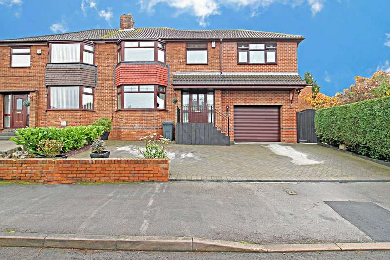 4 Bedrooms Semi Detached House for sale in Rosemary Road, Wickersley