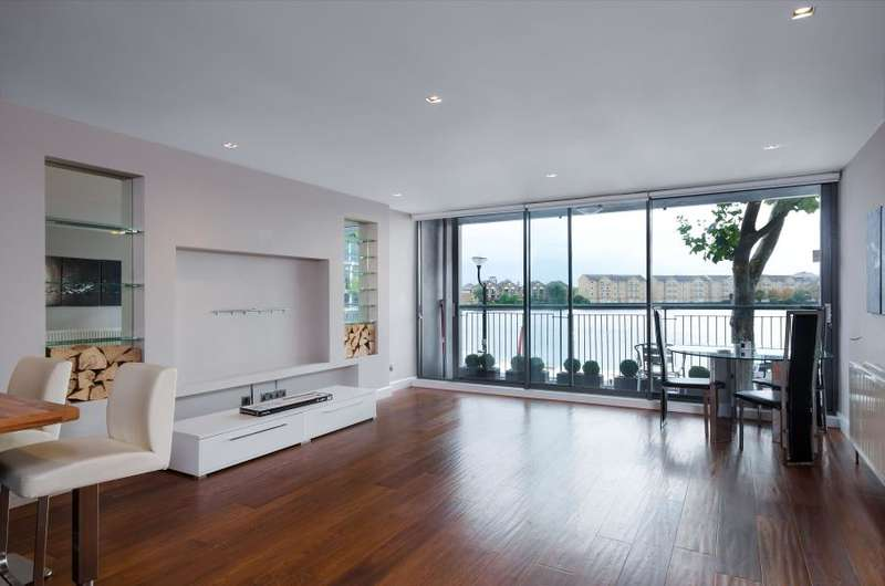 2 Bedrooms Apartment Flat for sale in City Harbour, Canary Wharf, E14