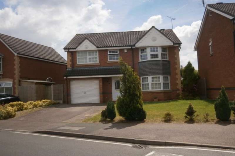 4 Bedrooms Detached House for rent in Celandine Road, Hamilton, Leicester, LE5