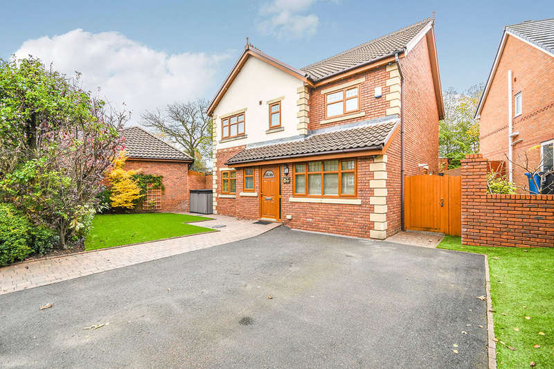 4 Bedrooms Detached House for sale in Sevenoak Grove, Tarbock, Prescot, L35