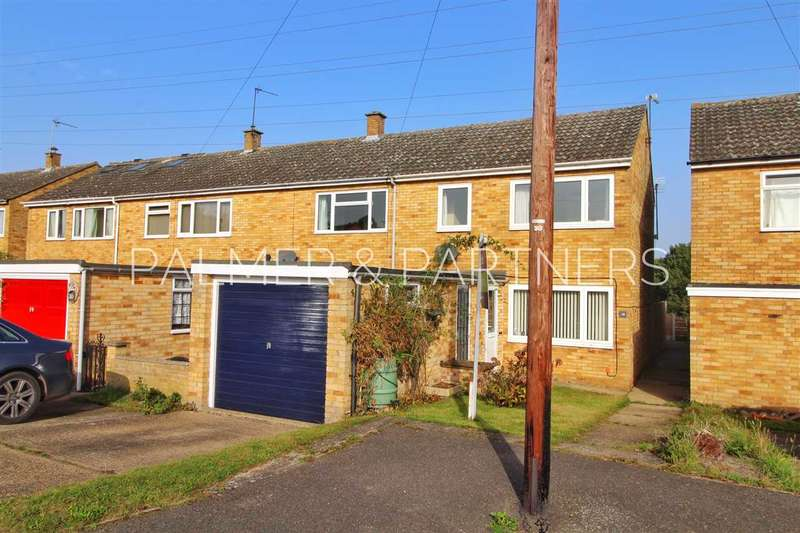 3 Bedrooms End Of Terrace House for sale in Luard Way, Birch, Colchester