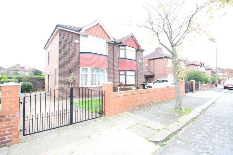 2 Bedrooms Semi Detached House for sale in Belford Road, Stretford, Manchester, M32