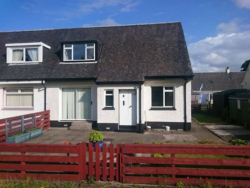 2 Bedrooms Semi Detached House for sale in 5 Highbank Park, Lochgilphead, PA31 8NL
