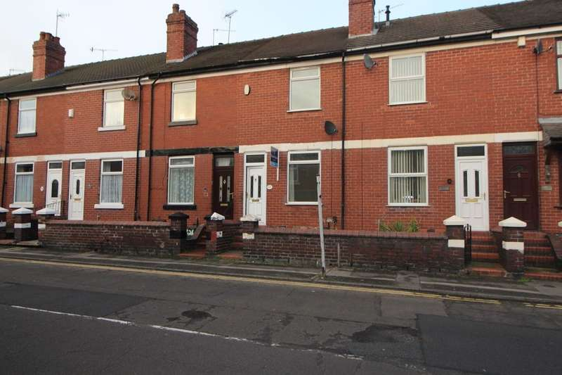 2 Bedrooms Terraced House for sale in Dimsdale Parade West, Newcastle, ST5
