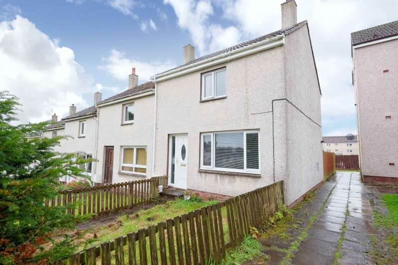 2 Bedrooms End Of Terrace House for sale in Smyllum Road, Lanark, ML11 7DD