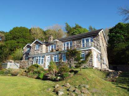 4 Bedrooms Detached House for sale in Glanrafon, Corwen, Gwynedd, LL21