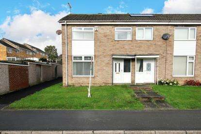3 Bedrooms End Of Terrace House for sale in Sheringham Close, High Green, Sheffield, South Yorkshire