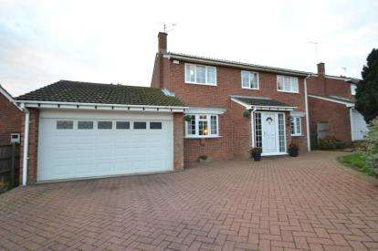 4 Bedrooms Detached House for sale in Grange Road, Wellingborough, Northamptonshire
