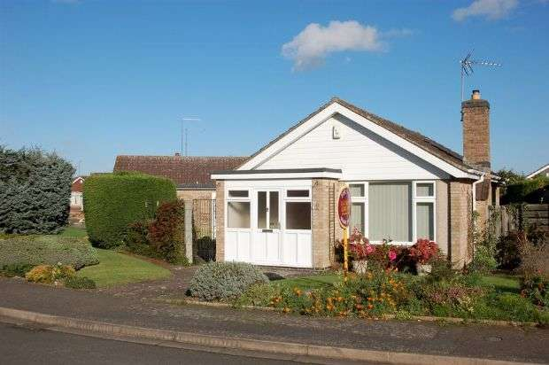 2 Bedrooms Detached Bungalow for sale in Gayhurst Close, Moulton, Northampton NN3 7LQ
