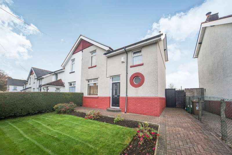 3 Bedrooms Semi Detached House for sale in Pontygwindy Road, Caerphilly