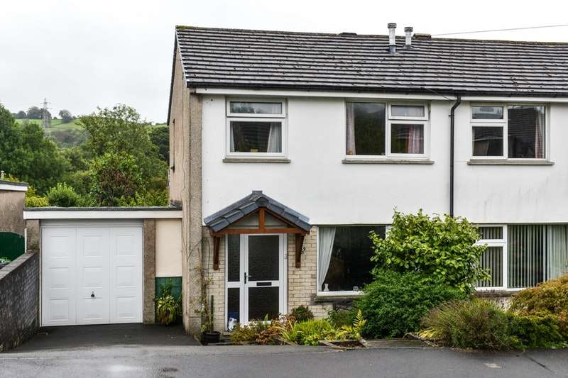 3 Bedrooms Semi Detached House for sale in Scafell Drive, Kendal, Cumbria, LA9