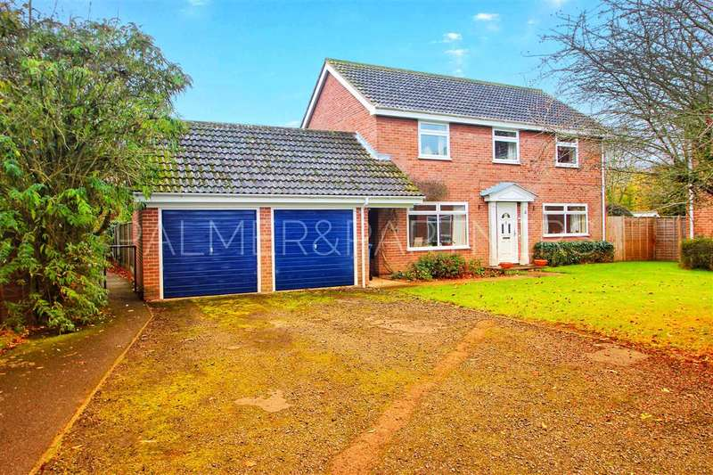 4 Bedrooms Detached House for sale in Spanbies Road, Stratford St. Mary, Colchester