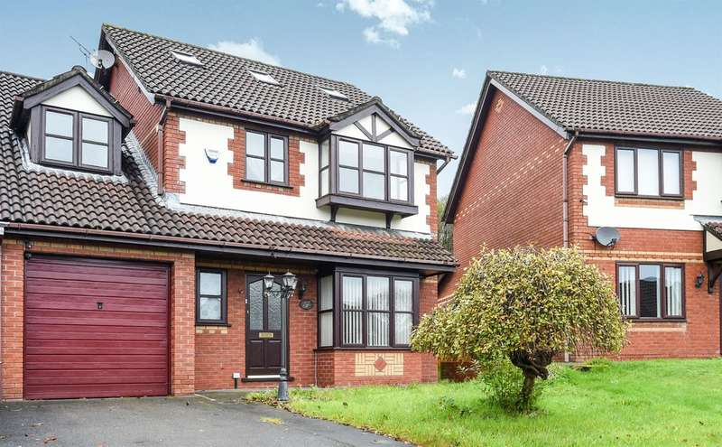 4 Bedrooms Semi Detached House for sale in Wellfield, Beddau, Pontypridd