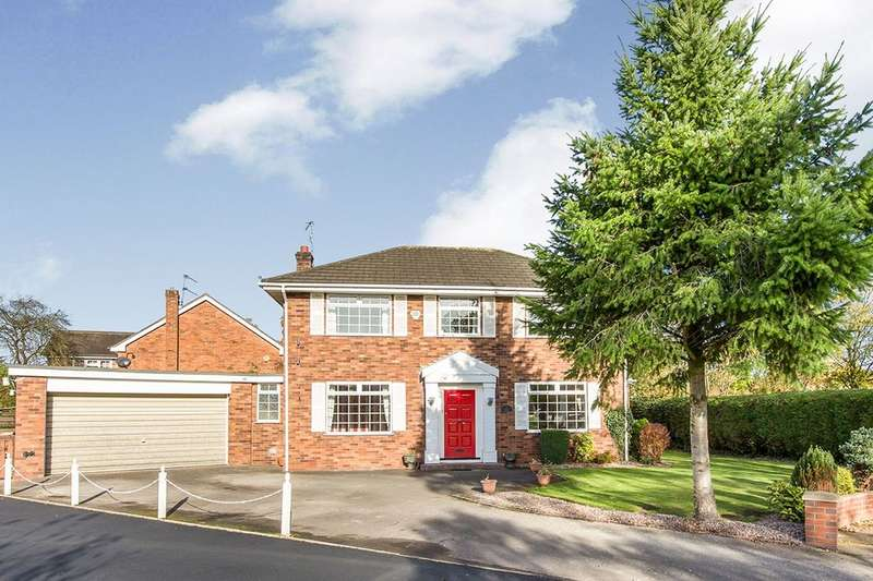 4 Bedrooms Detached House for rent in Newcastle Road South, Brereton, Sandbach, CW11