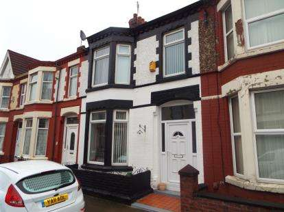 3 Bedrooms Terraced House for sale in Woodhall Road, Liverpool, Merseyside, L13