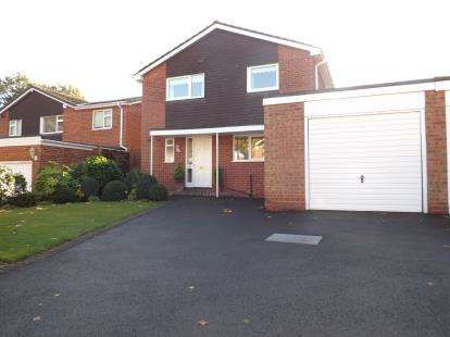 4 Bedrooms Detached House for sale in Aylesmore Close, Olton, Solihull, West Midlands