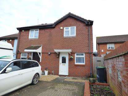 2 Bedrooms Semi Detached House for sale in Hardway, Gosport, Hampshire
