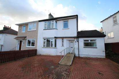4 Bedrooms Semi Detached House for sale in Rockmount Avenue, Thornliebank