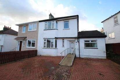 4 Bedrooms Semi Detached House for sale in Rockmount Avenue, Thornliebank