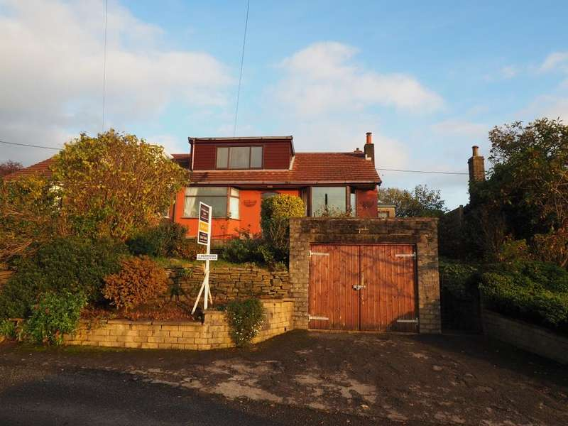 3 Bedrooms Semi Detached Bungalow for sale in Marsh Lane, New Mills, High Peak, Derbyshire, SK22 4PP