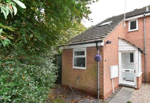 2 Bedrooms End Of Terrace House for sale in Hill Lane, Bromsgrove, B60