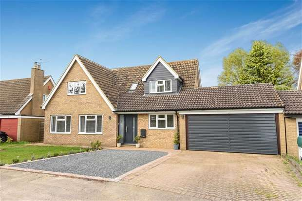 4 Bedrooms Detached House for sale in Burridges Close, Stevington