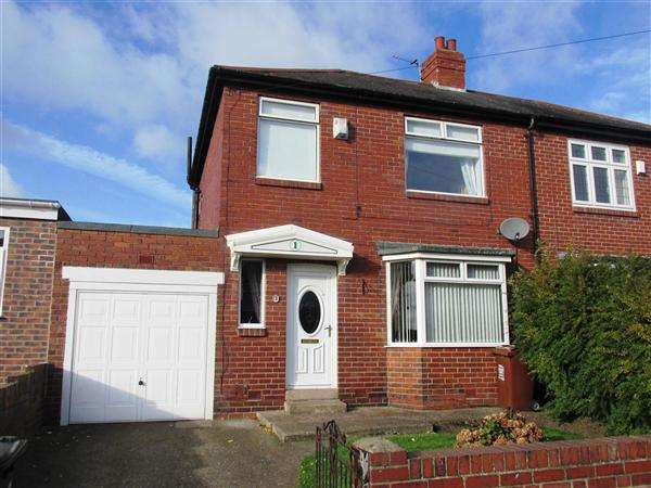 3 Bedrooms Semi Detached House for sale in Legion Road, Newcastle upon Tyne