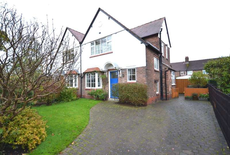 3 Bedrooms Semi Detached House for sale in Knowsley Road, Macclesfield