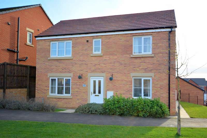 4 Bedrooms Detached House for sale in Drummond Way, Middridge Vale, DL4 2GB