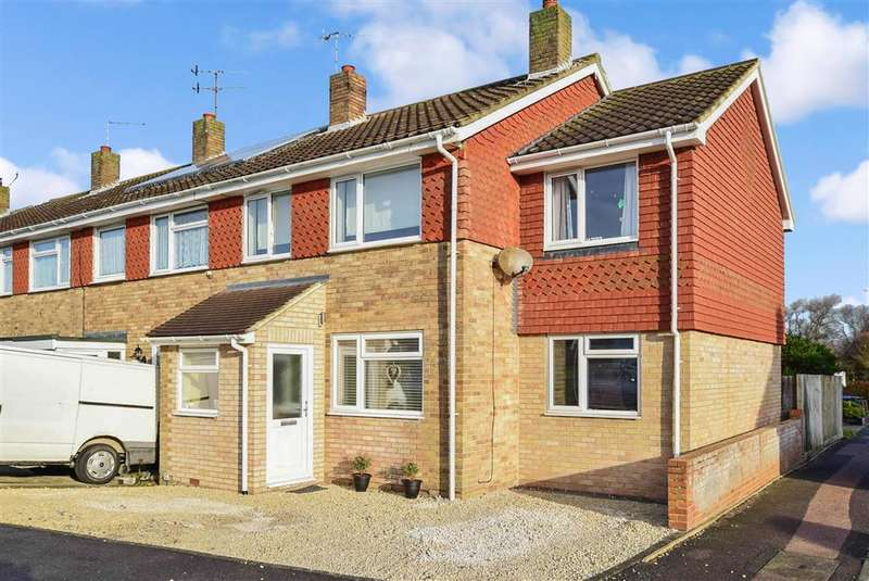 3 Bedrooms End Of Terrace House for sale in Freshbrook Road, Lancing, West Sussex