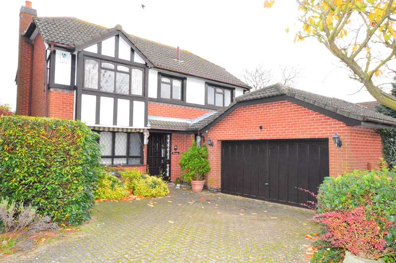 4 Bedrooms Detached House for sale in Greenway, Kibworth Beauchamp, Leicester, LE8 0LU