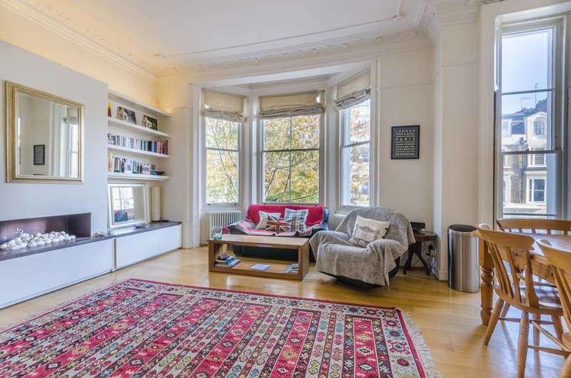 2 Bedrooms Flat for sale in Colville Road, Westbourne Grove, W11
