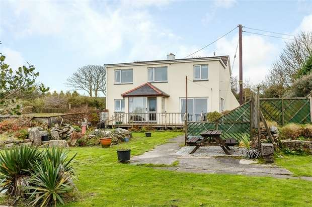 4 Bedrooms Detached House for sale in Wheal Buller, Redruth, Cornwall