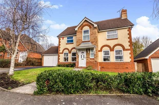 4 Bedrooms Detached House for sale in Tower Road, Peatmoor, Swindon, Wiltshire