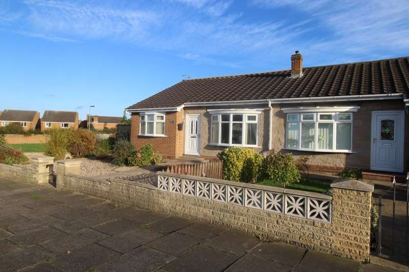 3 Bedrooms Semi Detached Bungalow for sale in The Derby, Marton-in-Cleveland, MIDDLESBROUGH, TS7