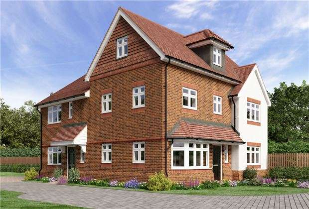 2 Bedrooms Semi Detached House for sale in Campbell Close, Reigate Road, Hookwood, HORLEY, Surrey