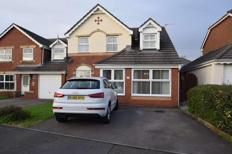 3 Bedrooms Detached House for sale in 12 Gelli Wen, Broadlands, Bridgend, Bridgend County Borough, CF31 5AL