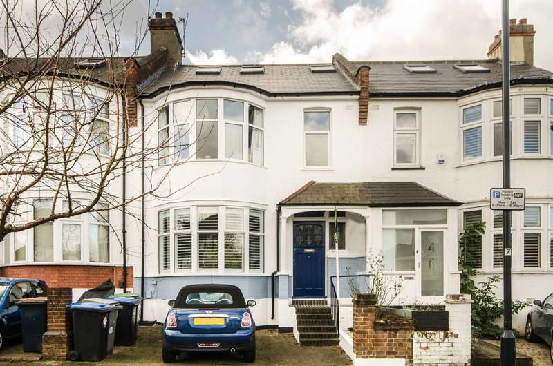 4 Bedrooms Terraced House for sale in Haycroft Gardens, Kensal Rise, NW10